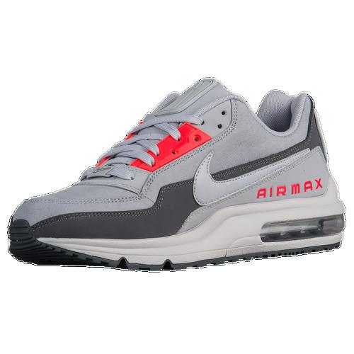 Nike Air Max LTD - Men's - Casual - Shoes - Wolf Grey/Bright Crimson/Dark Grey/Wolf Grey
