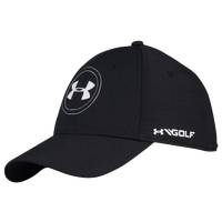 Under Armour JS Tour Golf Cap - Men's - Black / White