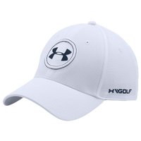 Under Armour JS Tour Golf Cap - Men's - White / Navy