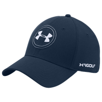 Under Armour JS Tour Golf Cap - Men's - Navy / White