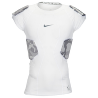 Nike Hyperstrong Sleeveless Core 4-Pad Top - Men's - White / Grey