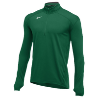 Nike Team Dry Element 1/2 Zip Top - Men's - Dark Green / Dark Green