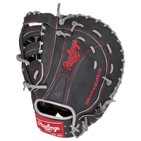 Rawlings Heart of the Hide First Base Mitt - Black / Grey