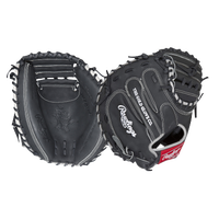 Rawlings Heart of the Hide Catchers Mitt - Black / White
