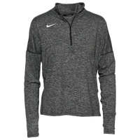 Nike Team Dry Element 1/2 Zip Top - Women's - Black / White