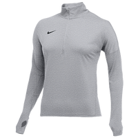 Nike Team Dry Element 1/2 Zip Top - Women's - Grey / Black