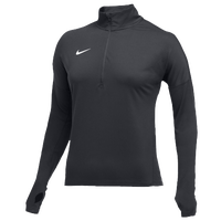 Nike Team Dry Element 1/2 Zip Top - Women's - Grey / Grey