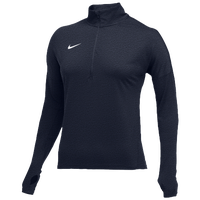 Nike Team Dry Element 1/2 Zip Top - Women's - Navy / White