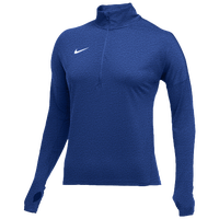 Nike Team Dry Element 1/2 Zip Top - Women's - Blue / White