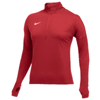 Nike Team Dry Element 1/2 Zip Top - Women's - Red / Red