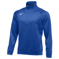 Nike Team Therma 1/4 Zip Top - Men's - Blue / Blue