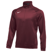 Nike Team Therma 1/4 Zip Top - Men's - Cardinal / Cardinal