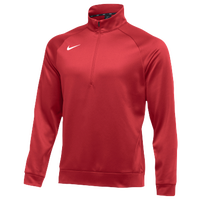 Nike Team Therma 1/4 Zip Top - Men's - Red / Red