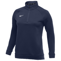 Nike Team Therma 1/4 Zip Top - Women's - Navy / Navy