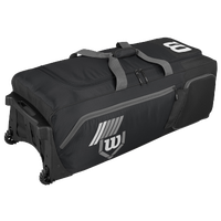 Wilson Pudge 2.0 Wheeled Bag - Black / Grey