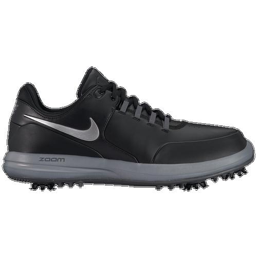 Nike Accurate Golf Shoes - Men's Golf - Black/Metallic Silver/Cool Grey 9724003