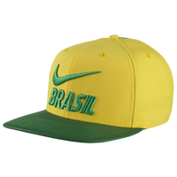 Nike Country Pride Snapback Hat - Brazil - Yellow / Green