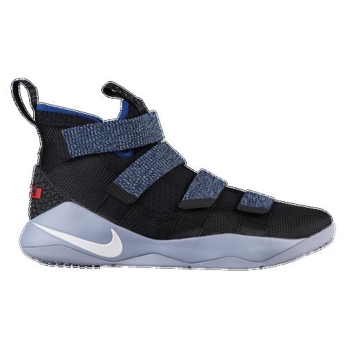 Nike LeBron Soldier 11 - Men\u0027s - Lebron James - Navy / Light Blue