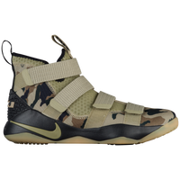 Nike LeBron Soldier 11 - Men's -  Lebron James - Olive Green / Brown