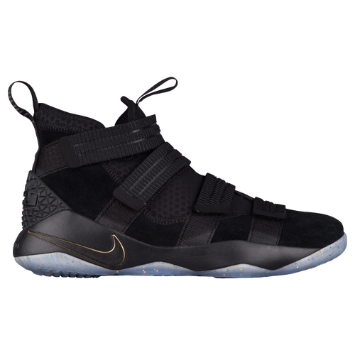 Nike LeBron Soldier 11 SFG - Men\u0027s - Lebron James - Black / Gold