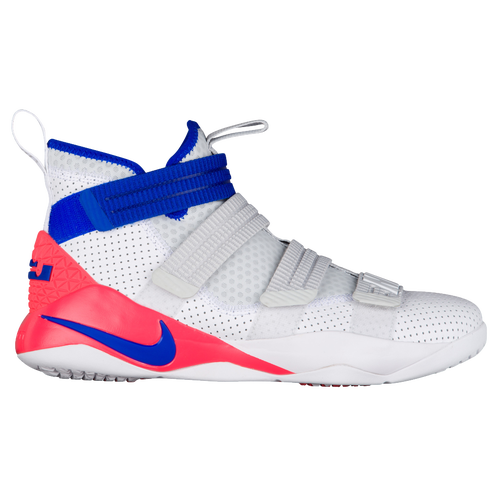 Nike LeBron Soldier 11 SFG - Men's - Basketball - Shoes - Lebron James -  White/Racer Blue/Infrared/Pure Platinum