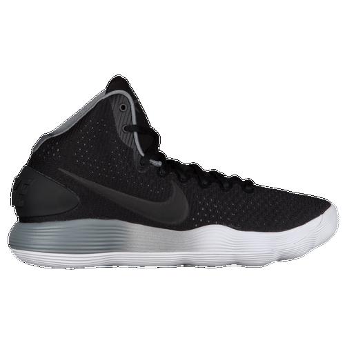 Nike React Hyperdunk 2017 Mid - Men's Basketball - Black/Metallic Silver/Cool Grey/Pure Platinum 97660001