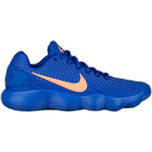 74465f31e40 ... uk nike react hyperdunk 2017 low mens basketball shoes racer blue  orange pulse light racer blue
