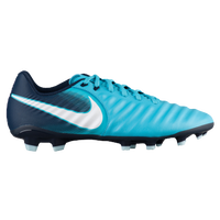 Nike Tiempo Ligera IV FG - Men's - Light Blue / Navy