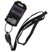 Robic SC-500E Single Event Stopwatch - Black / Black