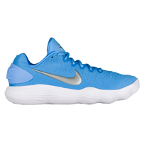 Nike React Hyperdunk 2017 Low - Men's - Light Blue / Silver