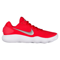 Nike React Hyperdunk 2017 Low - Men's - Red / Silver