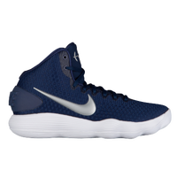 Nike React Hyperdunk 2017 Mid - Men\u0027s - Navy / Silver