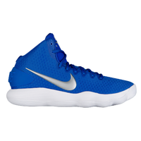Nike React Hyperdunk 2017 Mid - Men's - Blue / Silver