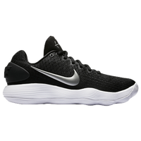 Nike React Hyperdunk 2017 Low - Women's - Black / Silver