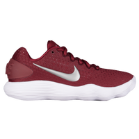 Nike React Hyperdunk 2017 Low - Women's - Red / Silver