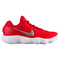 Nike React Hyperdunk 2017 Low - Women s - Red   Silver 1dbce1dcc