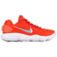 Nike React Hyperdunk 2017 Low - Women's - Orange / Silver