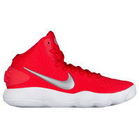 Nike React Hyperdunk 2017 Mid - Women's - Red / Silver
