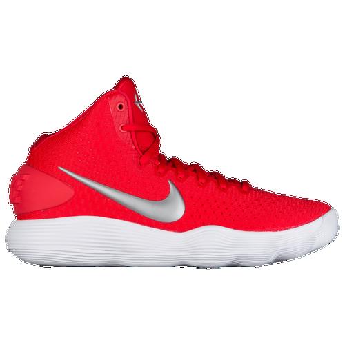 Nike React Hyperdunk 2017 Mid - Women\u0027s - Red / Silver