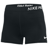 "Nike 3"" Pro Shorts - Women's - Black"