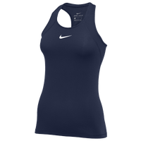 Nike Pro Tank All Over Mesh - Women's - Navy