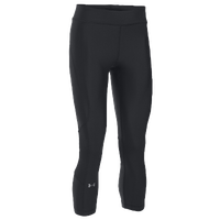 Under Armour Team Capri Tights - Women's - Black / Black