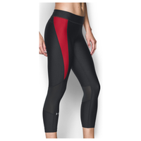Under Armour Team Capri Tights - Women's - Black / Red