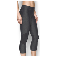 Under Armour Team Capri Tights - Women's - Grey / Black