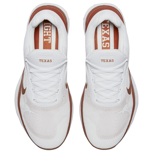 Nike Free Trainer V7 - Men's - Training - Shoes - Texas Longhorns -  White/Desert Orange