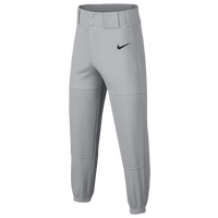 Nike Youth Core Baseball Pants - Boys' Grade School - Grey / Black