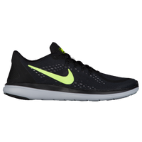 Nike Flex RN 2017 - Men's - Black / Light Green