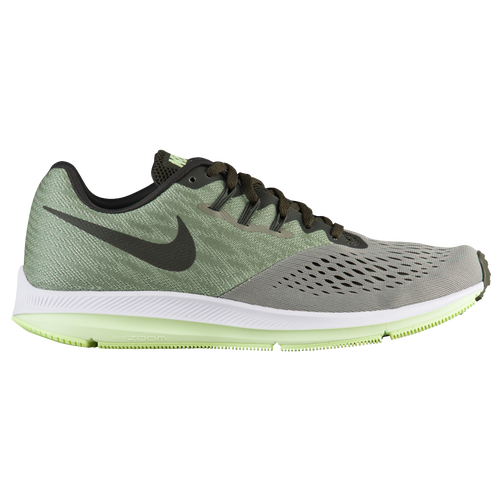 Nike Zoom Winflo 4 - Men's Running Shoes - Dark Stucco/Sequoia/Barely Volt/White 98466011