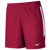"Nike Team Woven 7"" Shorts - Men's - Red / White"