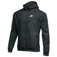 Nike Team NSW Windrunner Jacket - Men's - All Black / Black
